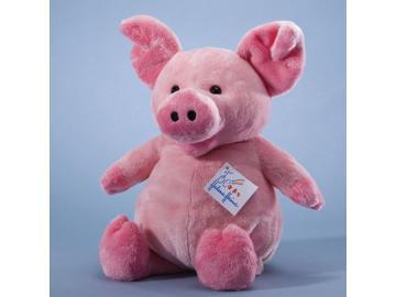 Das dicke Schweinchen Waldemar. Plüsch. Helme Heine. Freunde. Mullewapp. 26cm