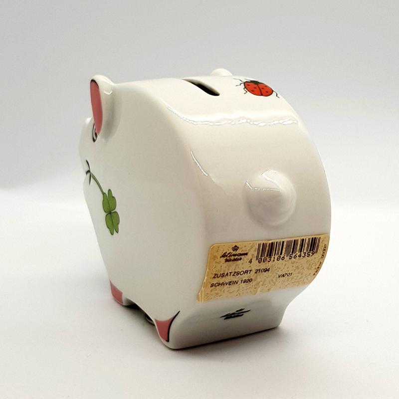 EINZELSTÜCK! Altes Sparschwein Seltmann-Weiden Porzellan SAMMLER