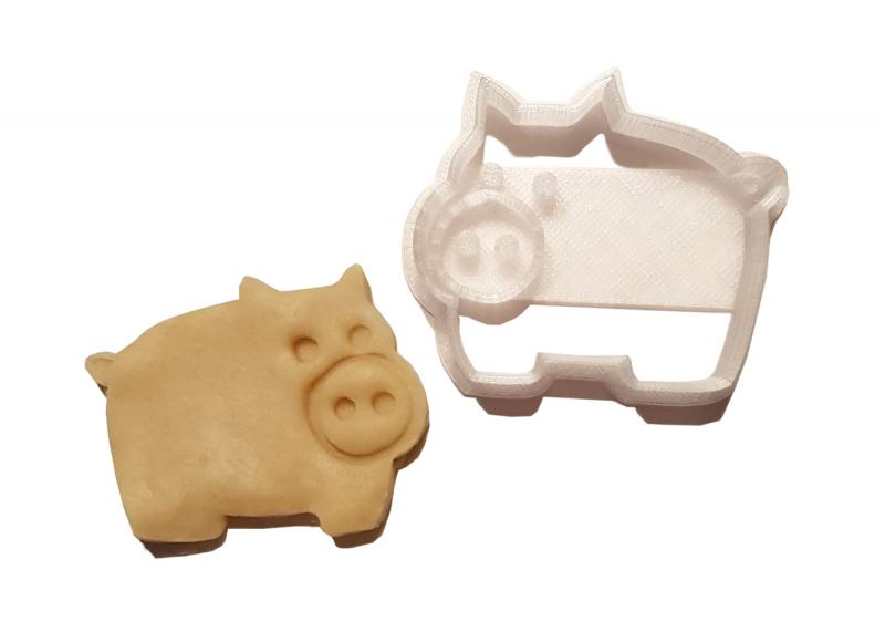 Keks Ausstechform Schwein Clara Plätzchen Fondant SCHWEINSWORLD