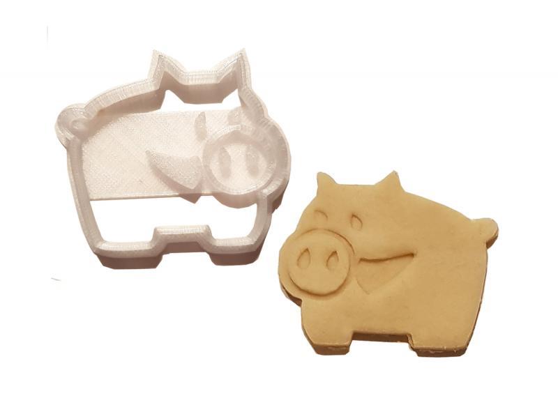 Keks Ausstechform-Set Schwein Clara & Tommy Plätzchen SCHWEINSWORLD