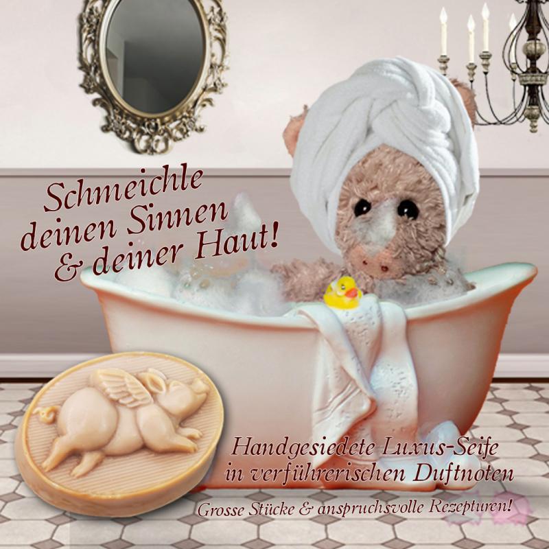 Seife Fliegendes Schweinchen Jungbrunnen 150g* handgemacht